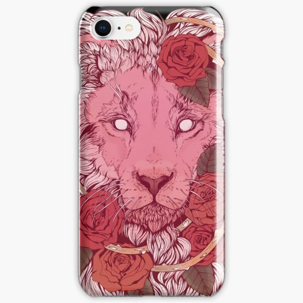 Lion of Roses iPhone Snap Case