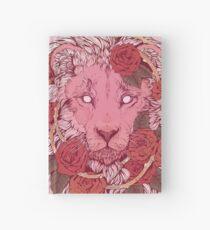 Cuaderno de tapa dura León de rosas