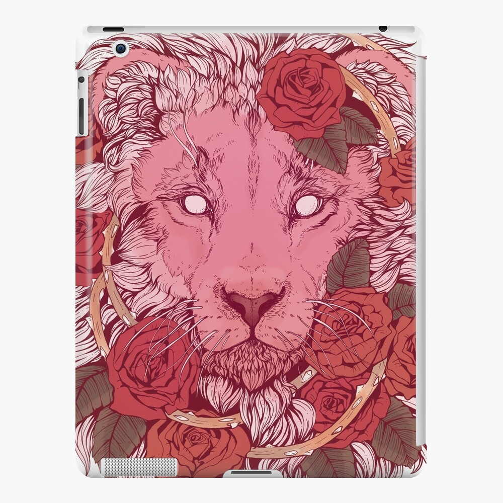 Lion of Roses iPad Case & Skin