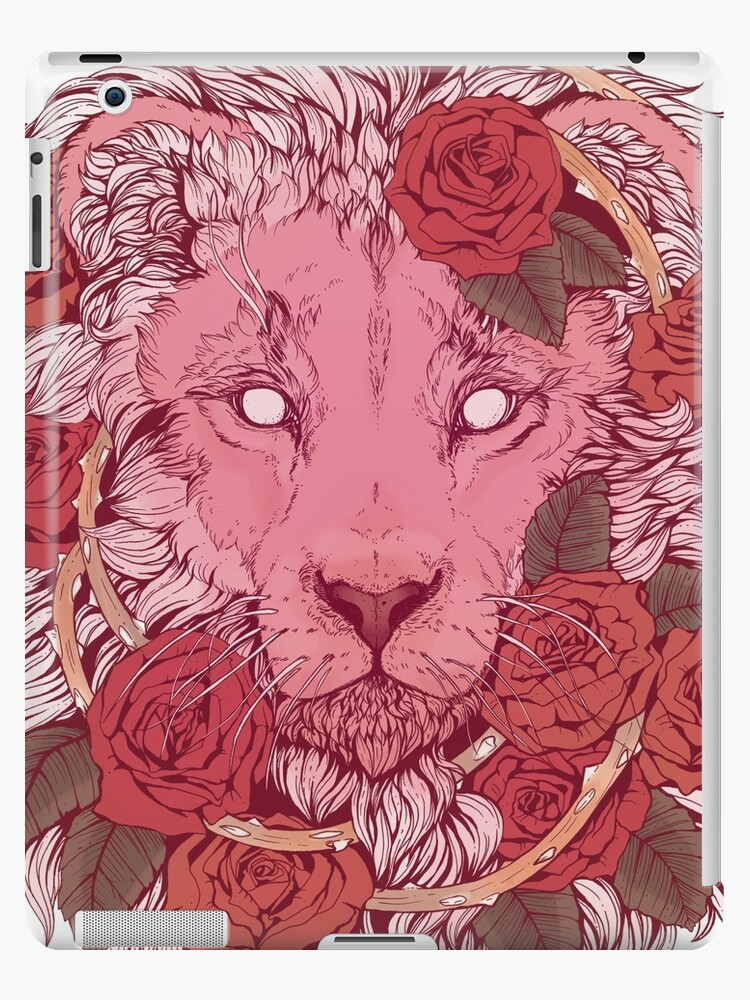 Lion of Roses by Kellie Lamphere