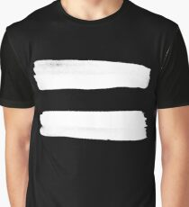 Equality Paint White Graphic T-Shirt