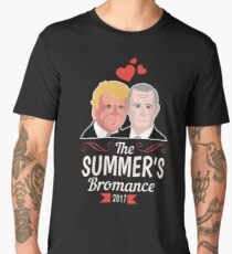 This Summer's Bromance Trump and Putin Fake President News Tee Men's Premium T-Shirt