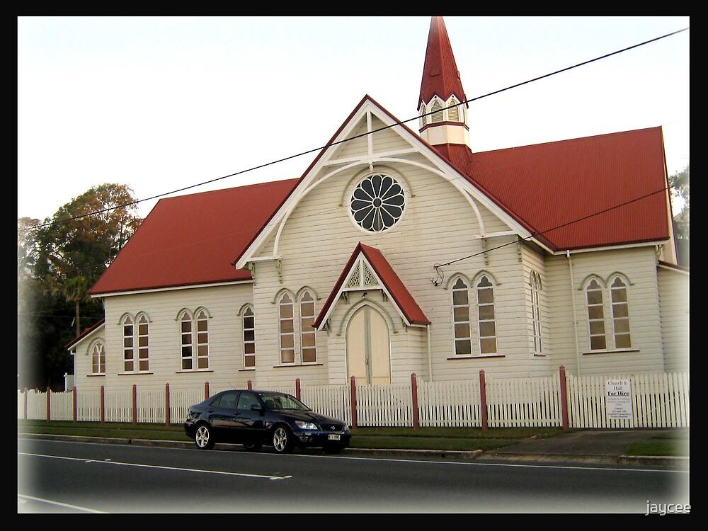 Beachfront Church by jaycee