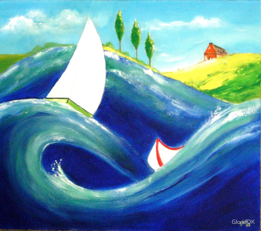 Seascape1 by GloriaDK