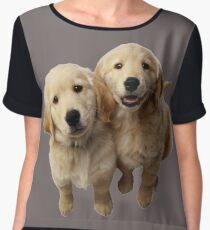 Puppies! Sale!!! Women's Chiffon Top