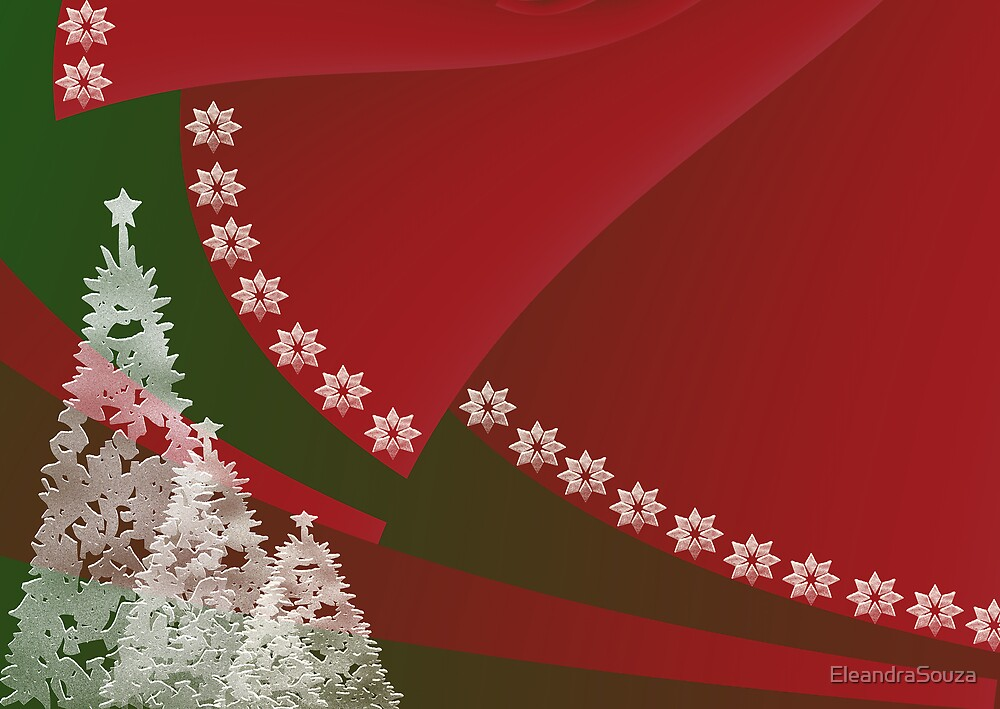 Christmas Background by EleandraSouza