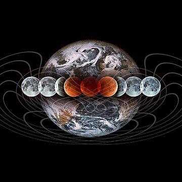 Lunar Eclipse by arteology