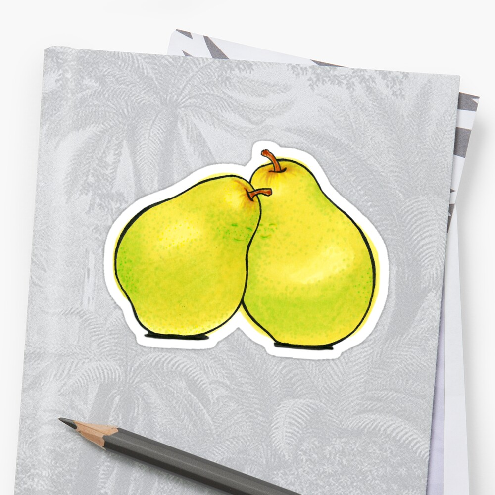 Pears Sticker Front
