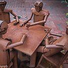 The Domino Players  by John  Kapusta