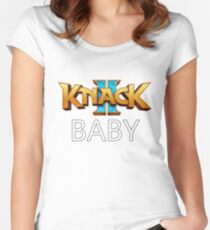 KNACK 2 BABY Women's Fitted Scoop T-Shirt