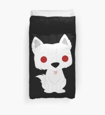 Ghost Puppy Duvet Cover