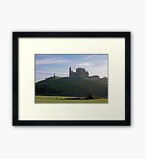 Rock of Cashel evening view Framed Print