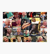 50 Shades of Guy Fieri Flavortown Food Collage Small Size Photographic Print