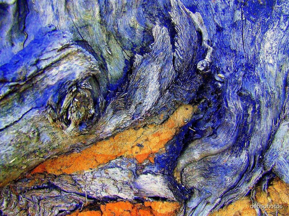 """Bark Macro...""""Breaking Waves"""" by debsphotos"""