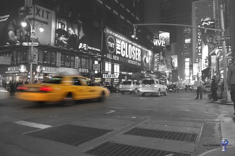 Cab in New York by Vino