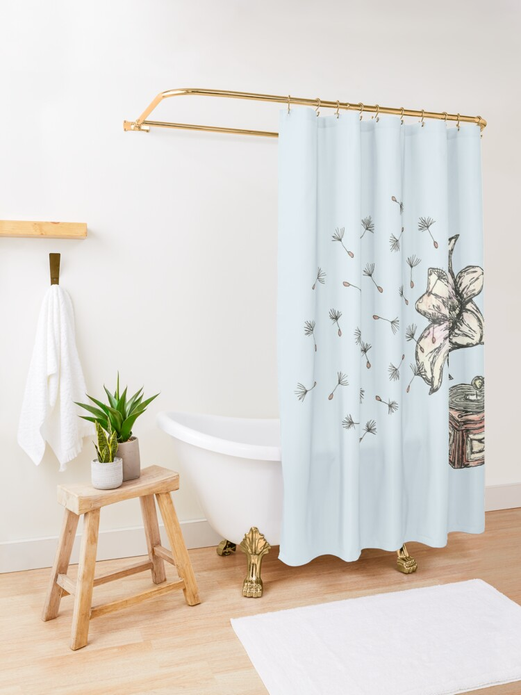 Alternate view of Natures Sound Shower Curtain