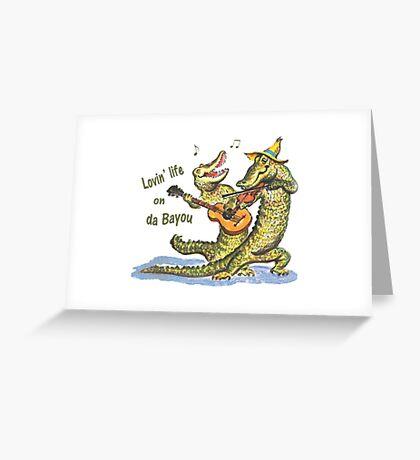On da Bayou Greeting Card