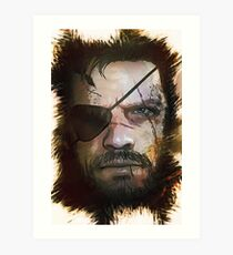 Venom Snake - Big Boss [METAL GEAR SOLID] Art Print