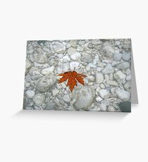 The Acheron Gorge Greeting Card