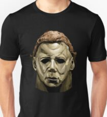 Michael Myers mask Halloween  T-Shirt