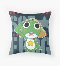 SGT frog Throw Pillow