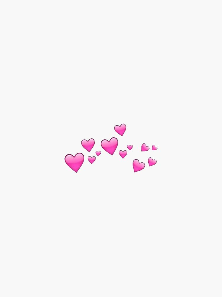 heart emoji cloud by tumblrrr
