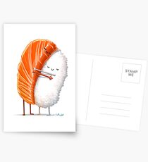 Sushi Hug Postcards