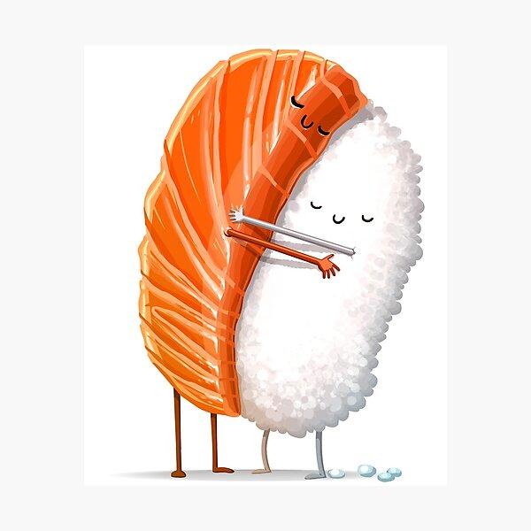 Sushi Hug Photographic Print