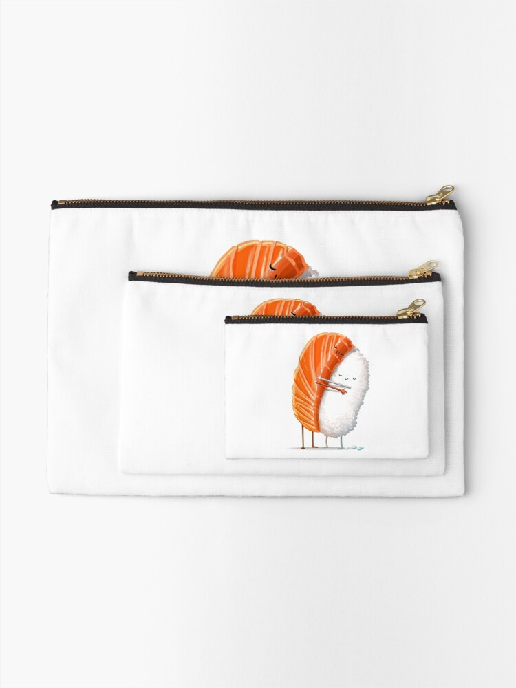Alternate view of Sushi Hug Zipper Pouch