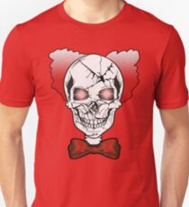 Halloween Scary Skull Clown Face Party T-shirt  T-Shirt