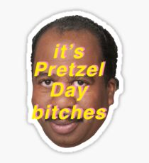 Its pretzel day Sticker