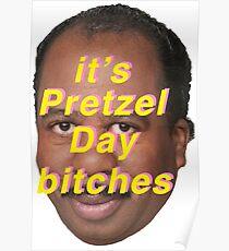 Its pretzel day Poster