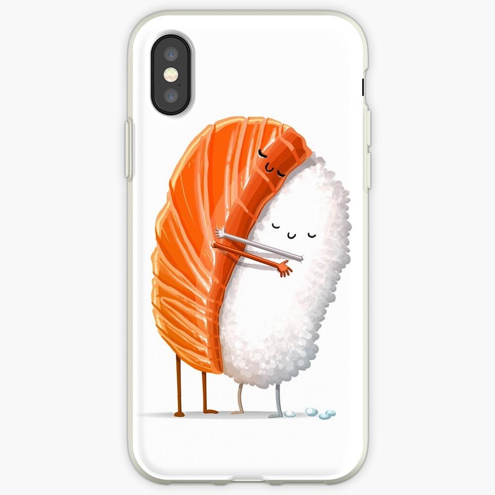 Sushi Hug iPhone Case & Cover