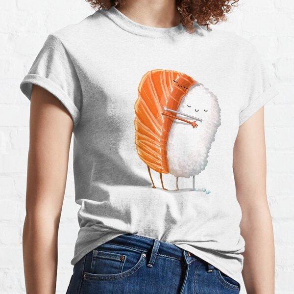 Abrazo de sushi Camiseta clásica