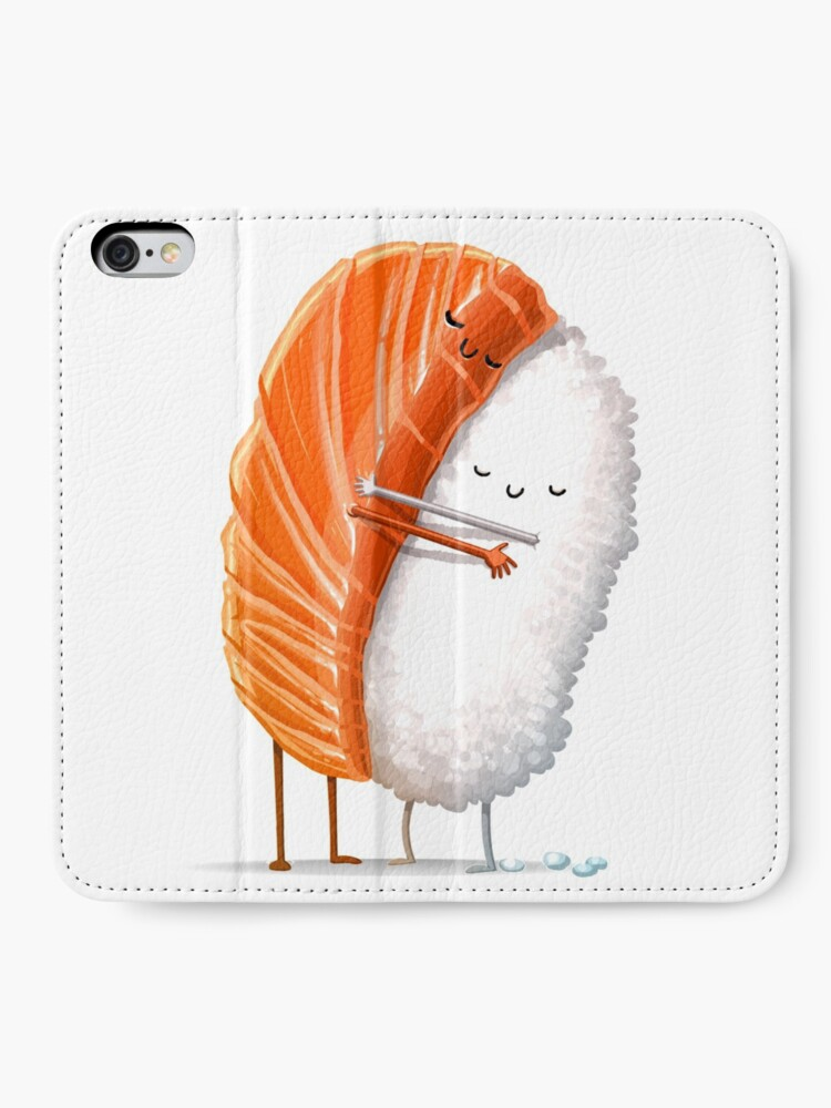 Alternate view of Sushi Hug iPhone Wallet