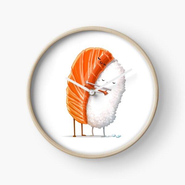 Sushi Hug Clock