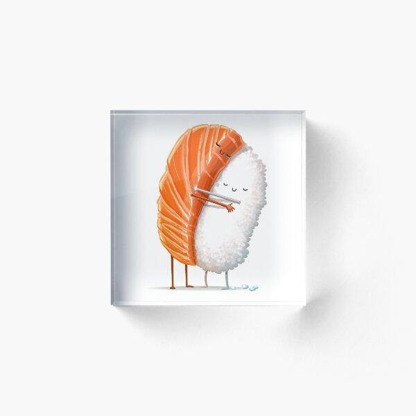 Sushi Hug Acrylic Block