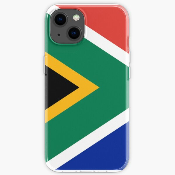 South Africa Flag iPhone Soft Case