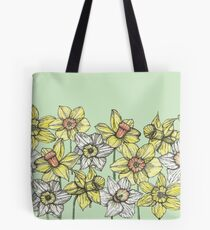 Field of Daffodils Tote Bag