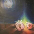 Mooned by Glenn McLeary