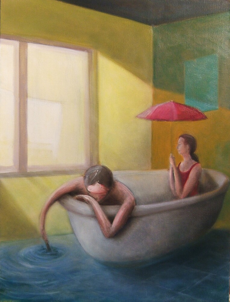 The trouble with water by Glenn McLeary