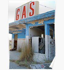 Metro Gas:  The Station Poster