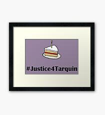Gotham: Justice For Tarquin Framed Print