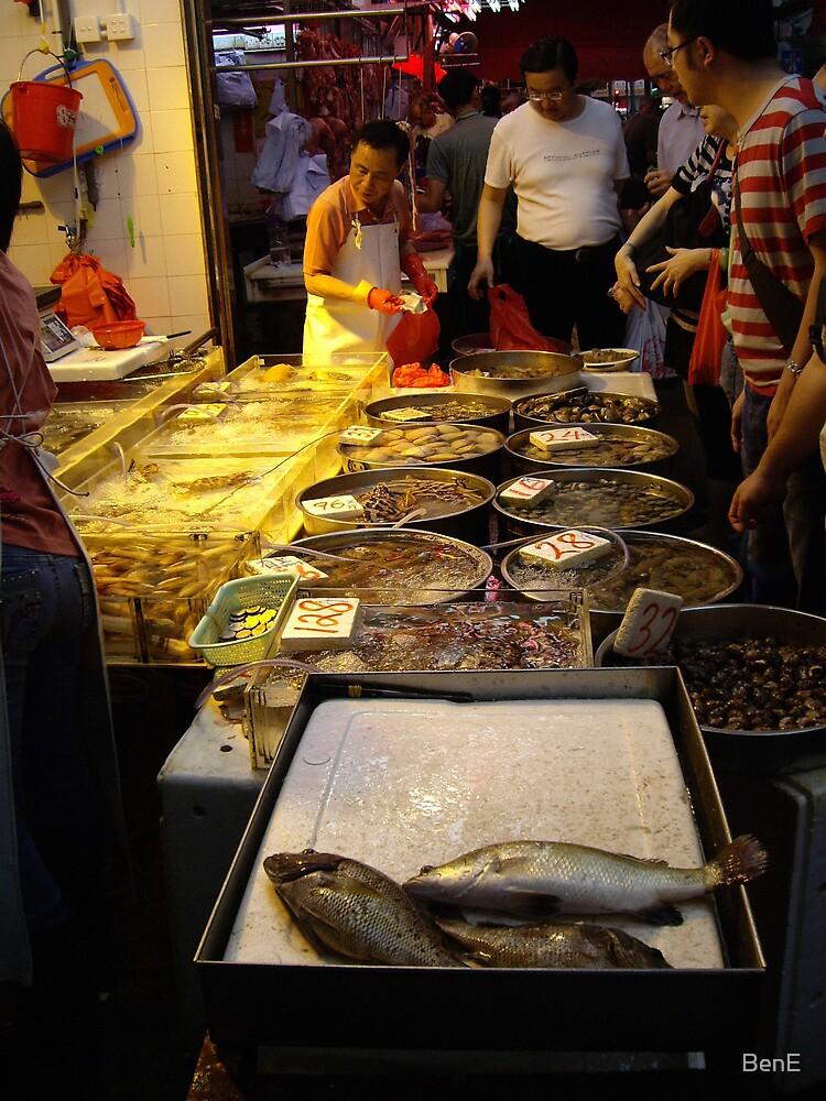 Hong Kong Fish Market by BenE