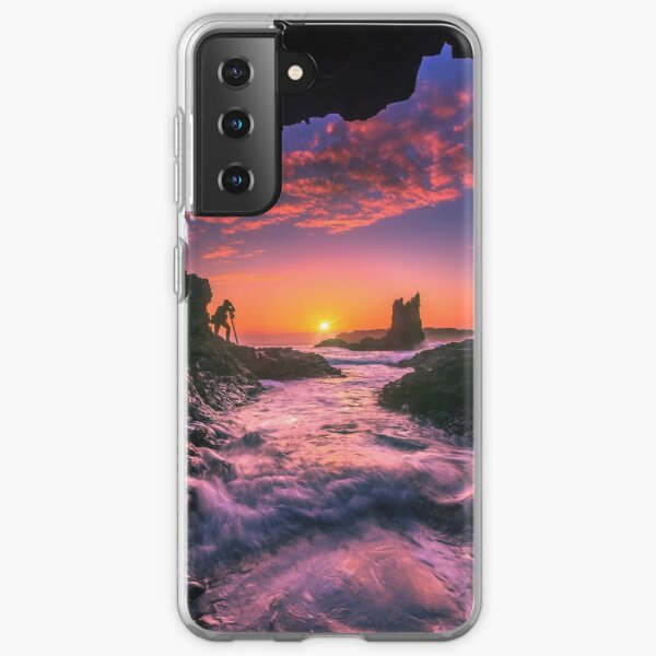 Cathedral Rocks Cave Samsung Galaxy Soft Case