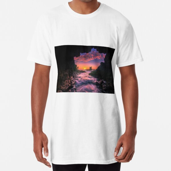 Cathedral Rocks Cave Long T-Shirt