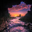 Cathedral Rocks Cave by Arfan Habib