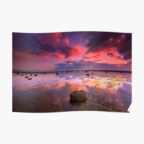 Long Reef Sunrise Poster
