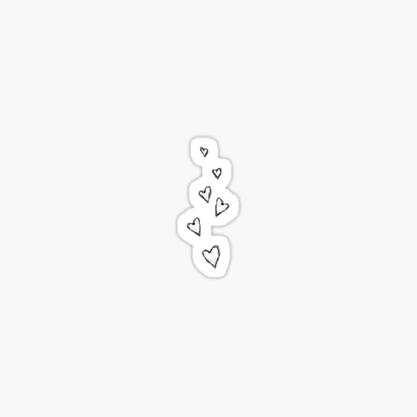 tumblr hearts Sticker