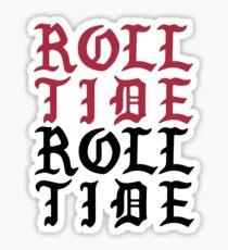 roll tide roll tide Sticker